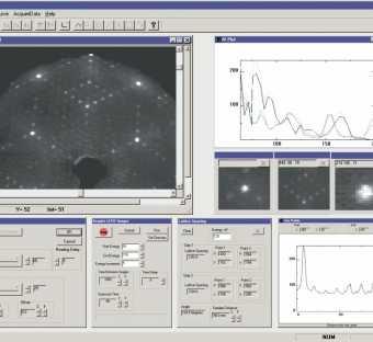 Software per analisi di immagini da LEED - LIM12