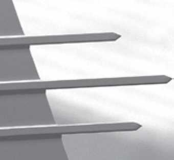 Tipless Cantilevers - Tipless Noncontact (NSC) and Contact (CSC) three-lever silicon probes