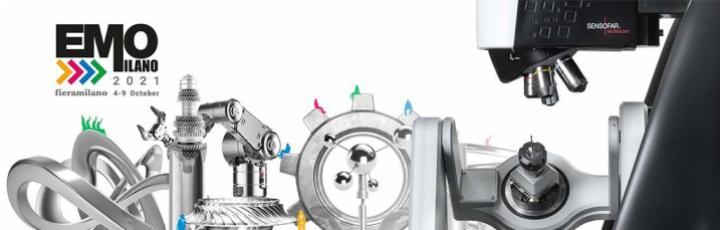 4-9 ottobre 2021 - EMO MILANO 2021 - Vieni a provare i profilometri ottici Sensofar!