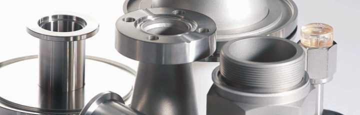 Adattatori per sistemi ad Alto Vuoto e Ultra Alto Vuoto (UHV)